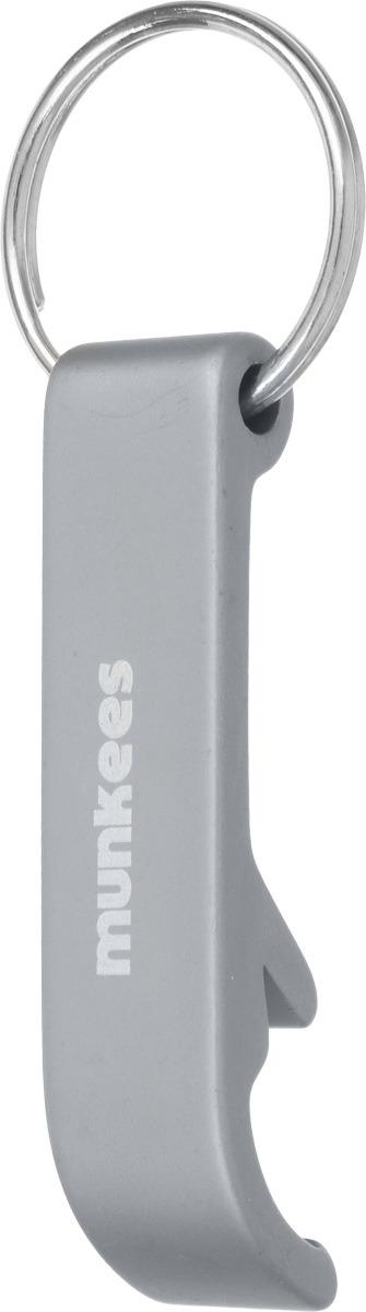 Брелок-открывалка Munkees Стандартная, цвет: серый