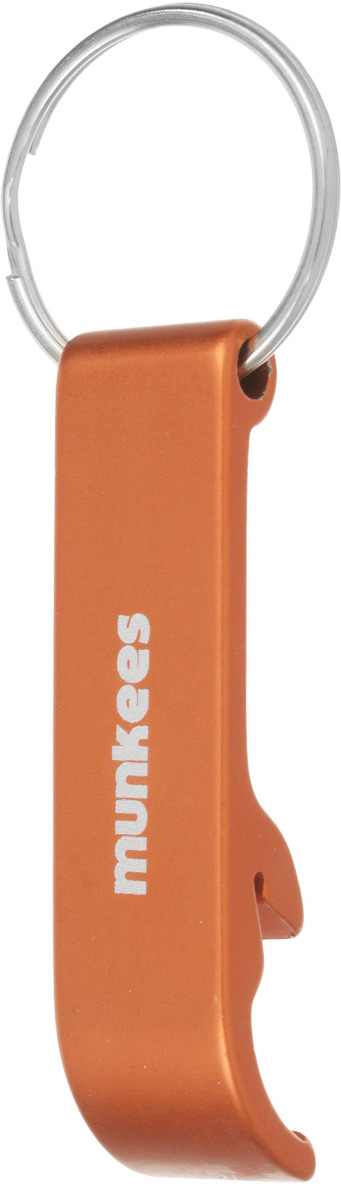 Брелок-открывалка Munkees Стандартная, цвет: оранжевый брелок открывалка munkees стандартная цвет желтый