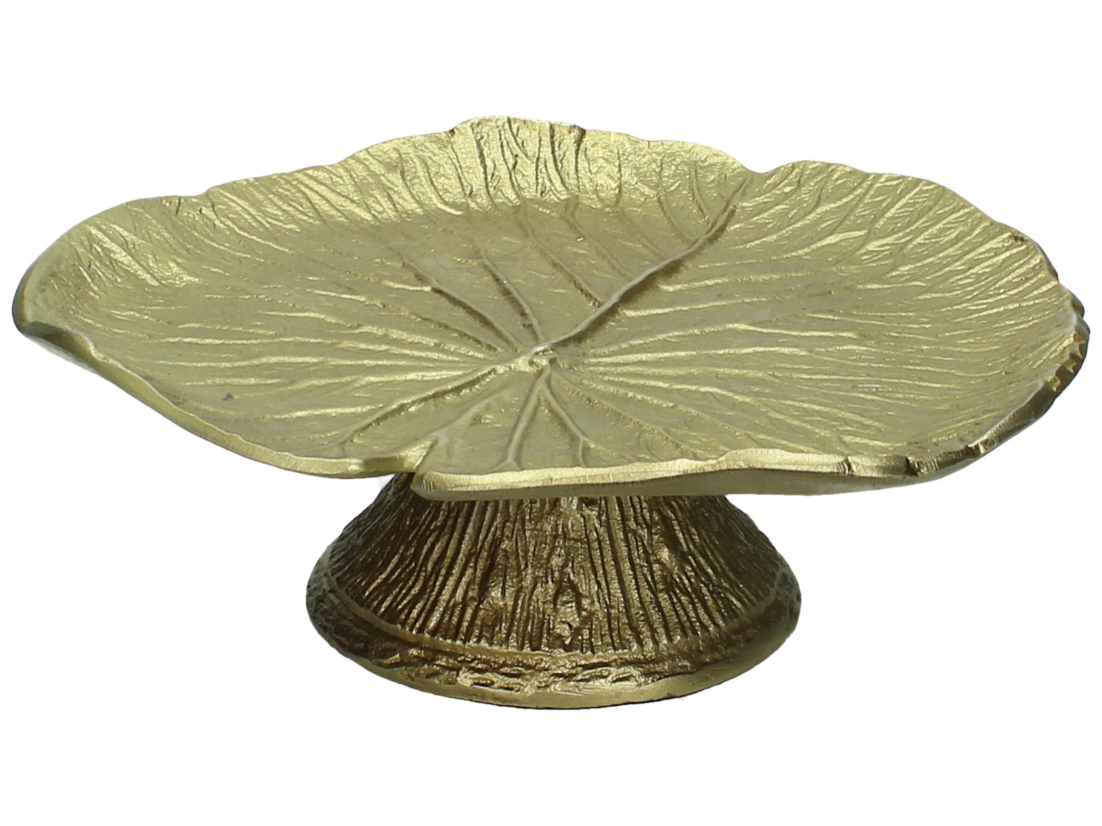 Фруктовница RICH LINE Home Decor Золотой лист, WER-5792, золотой цепь rich line йошкар ола