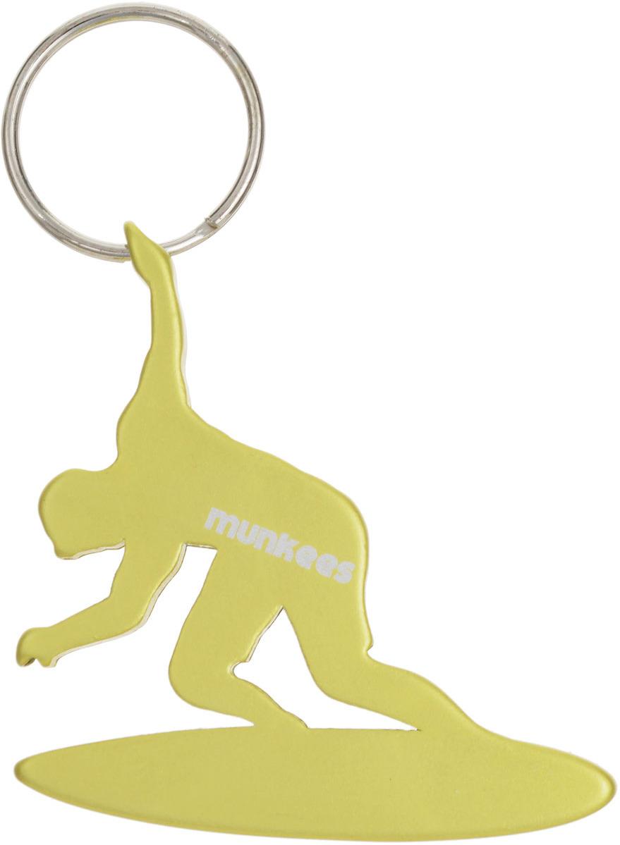 Брелок-открывалка Munkees Серфингист, цвет: желтый брелок открывалка munkees стандартная цвет желтый