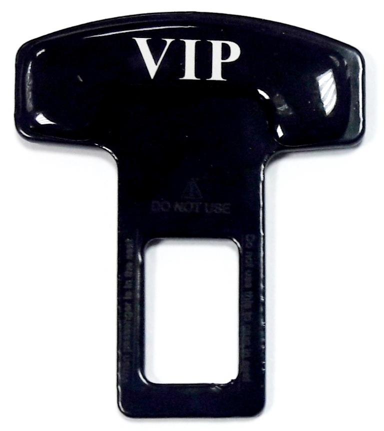 Фото - Заглушка ремня ZMS 003 VIP металл 50*62мм авто