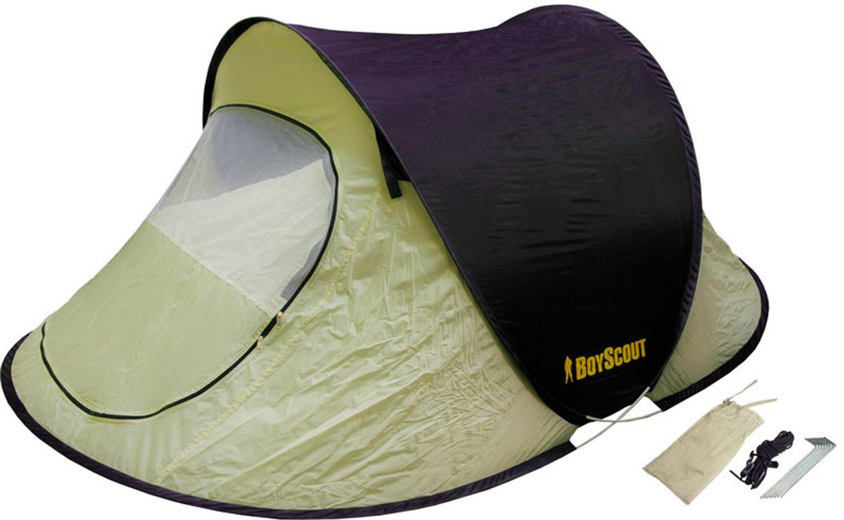 Палатка двухместная Boyscout, самораскладывающаяся