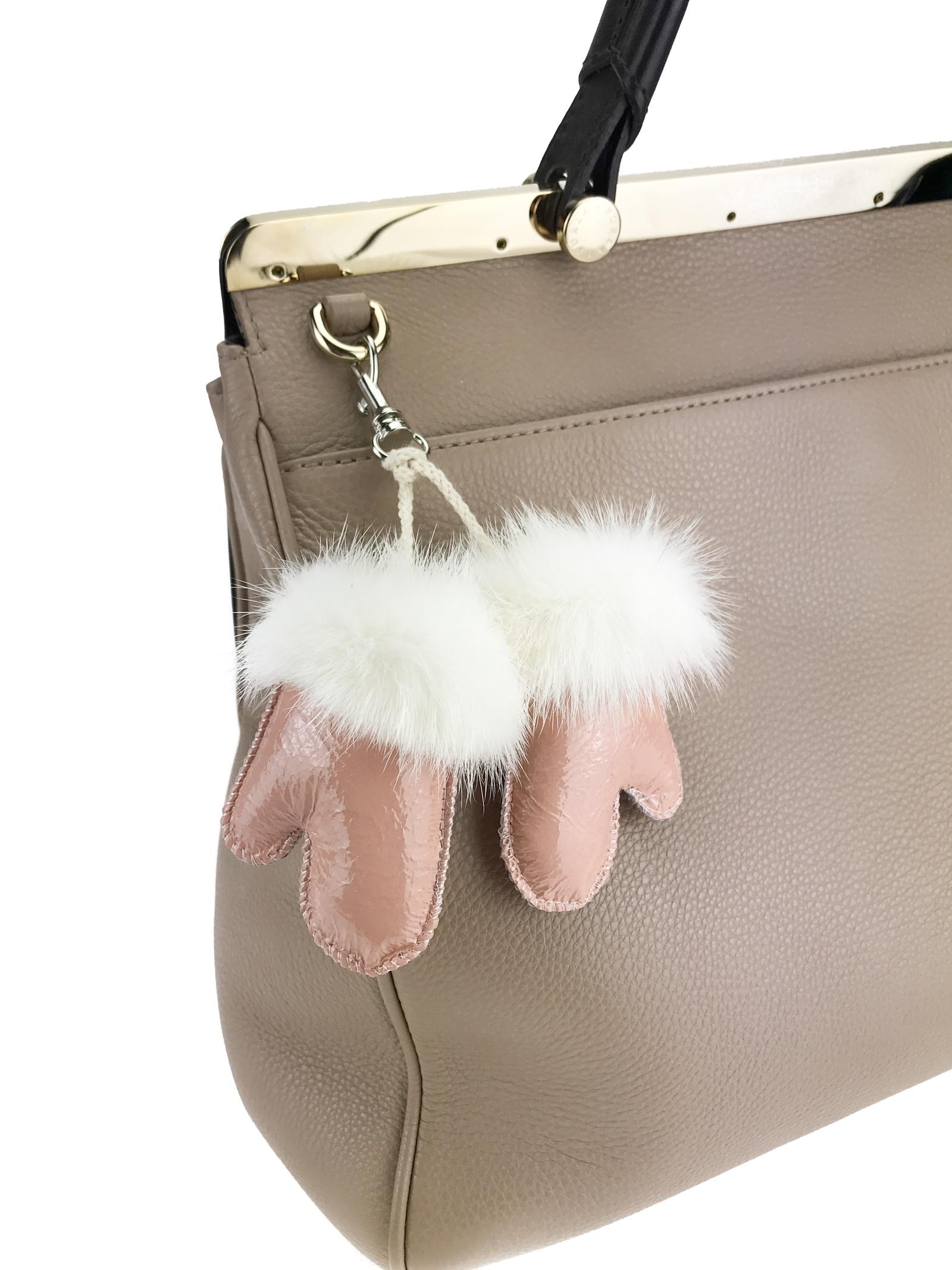 Брелок для сумки Mex-Style Брелок-рукавички, розовый брелок для сумки rolf schulte