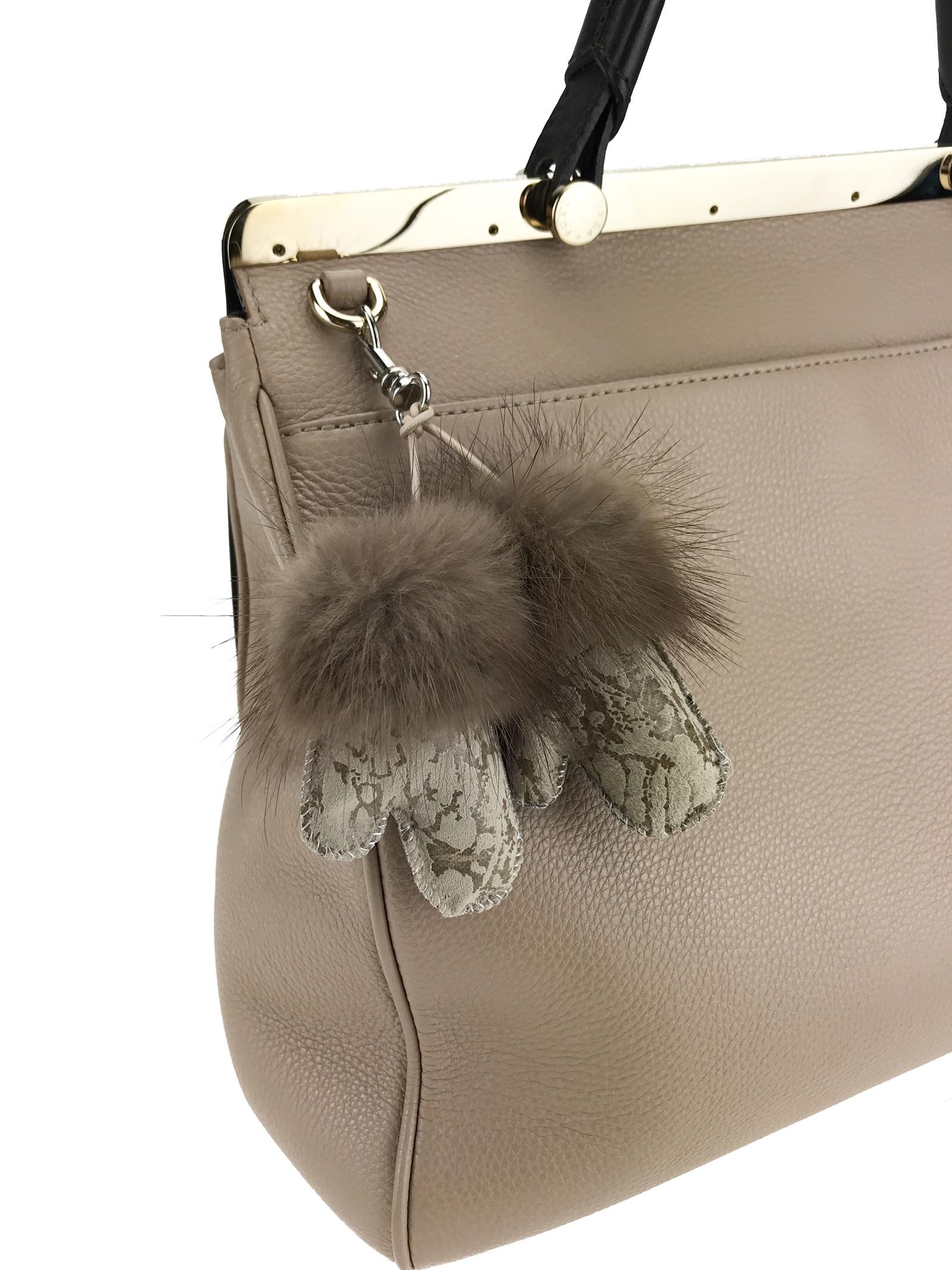 Брелок для сумки Mex-Style Брелок-рукавички, бежевый брелок для сумки rolf schulte