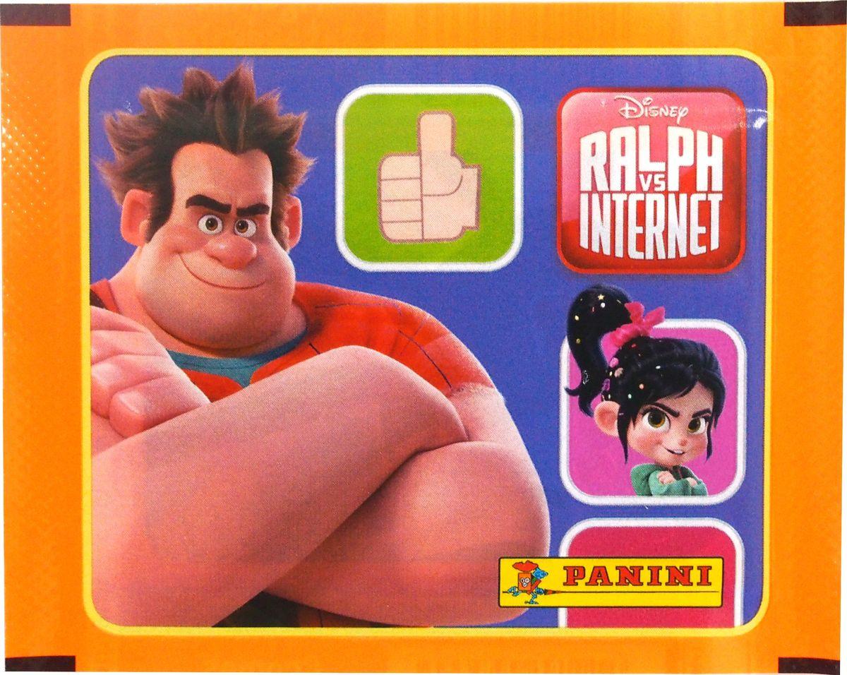 Набор наклеек Panini Disney. Ральф против интернета, 5 наклеек альбом для наклеек panini soy luna disney я луна disney 15 наклеек в комплекте