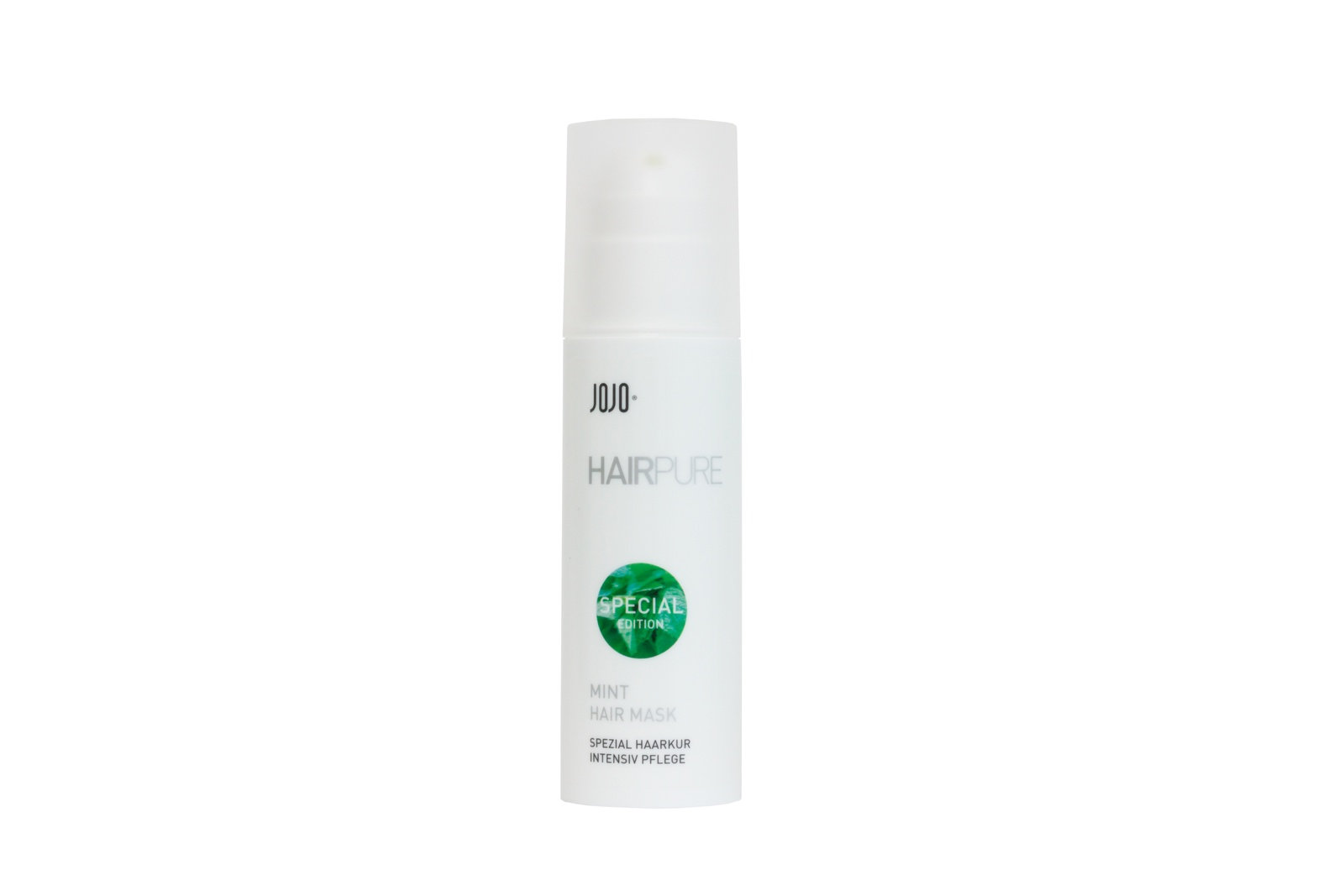 Средство для лечения кожи головы и волос JOJO Haircosmetics Hair Mask Mint, 150ml/Маска мятная средство для лечения кожи головы и волос hairfood дневной фиксатор густоты men medium 7 5