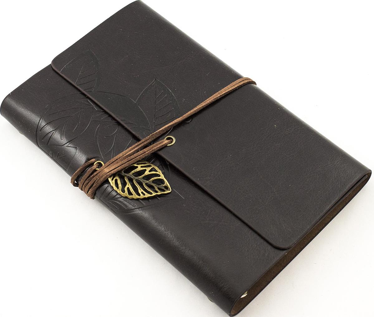 """Блокнот Эврика """"Листья"""", 98969, коричневый"""