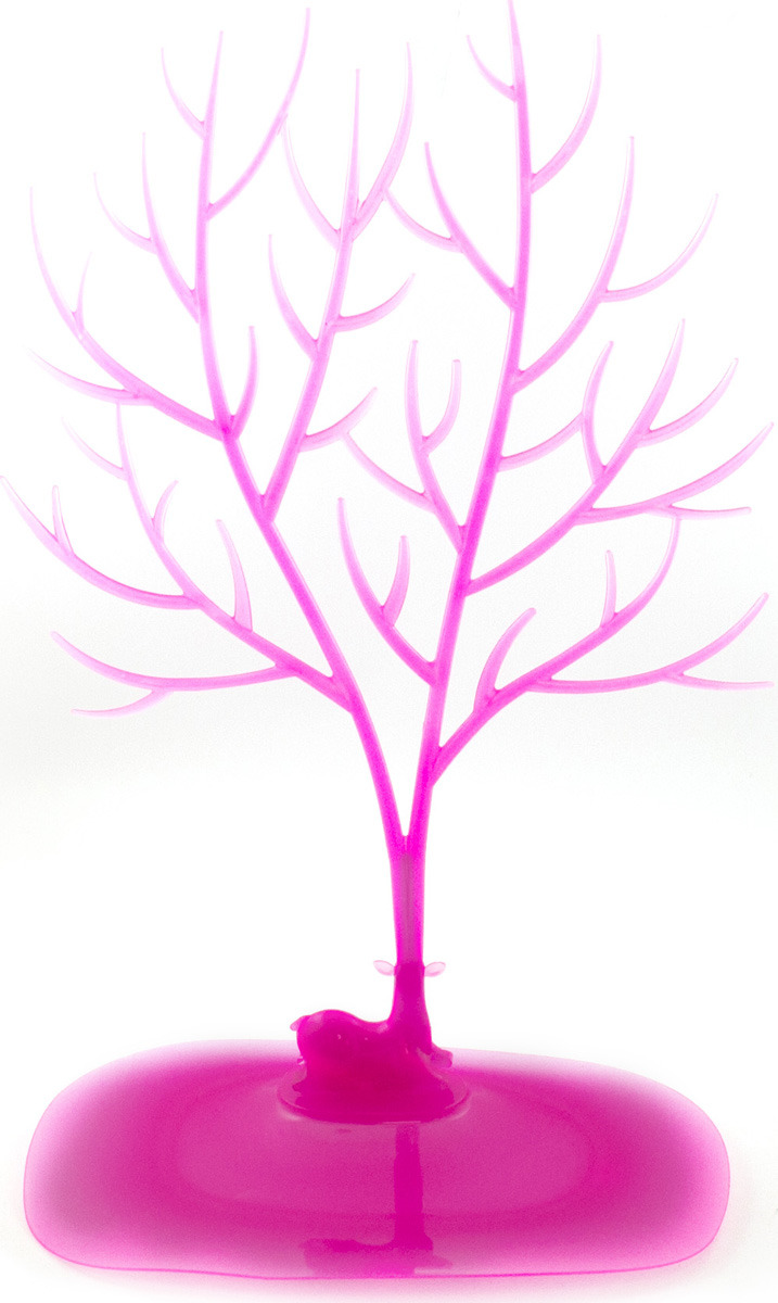Подставка Эврика Олень Большие рога для колец, 98988, розовый archpole настенные рога с головой дорогой олень