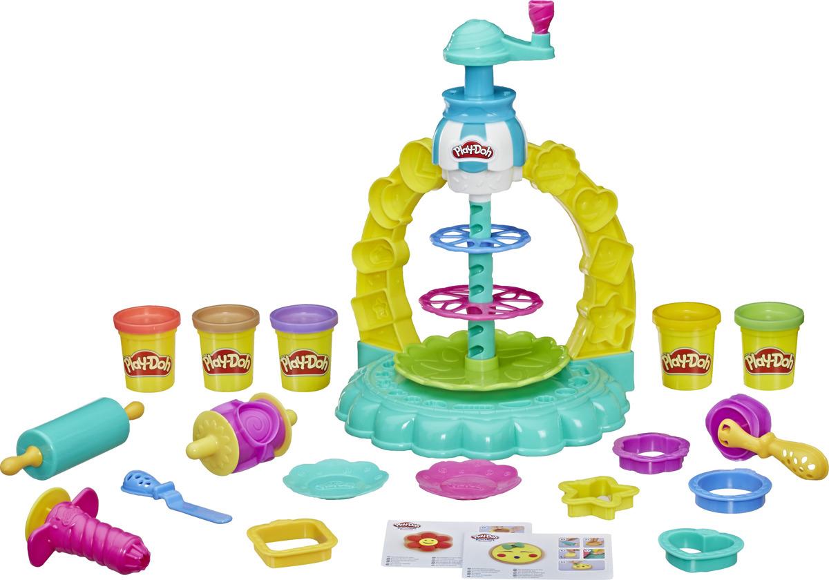 Масса для лепки Play-Doh Kitchen Creations Карусель сладостей, E5109EU4
