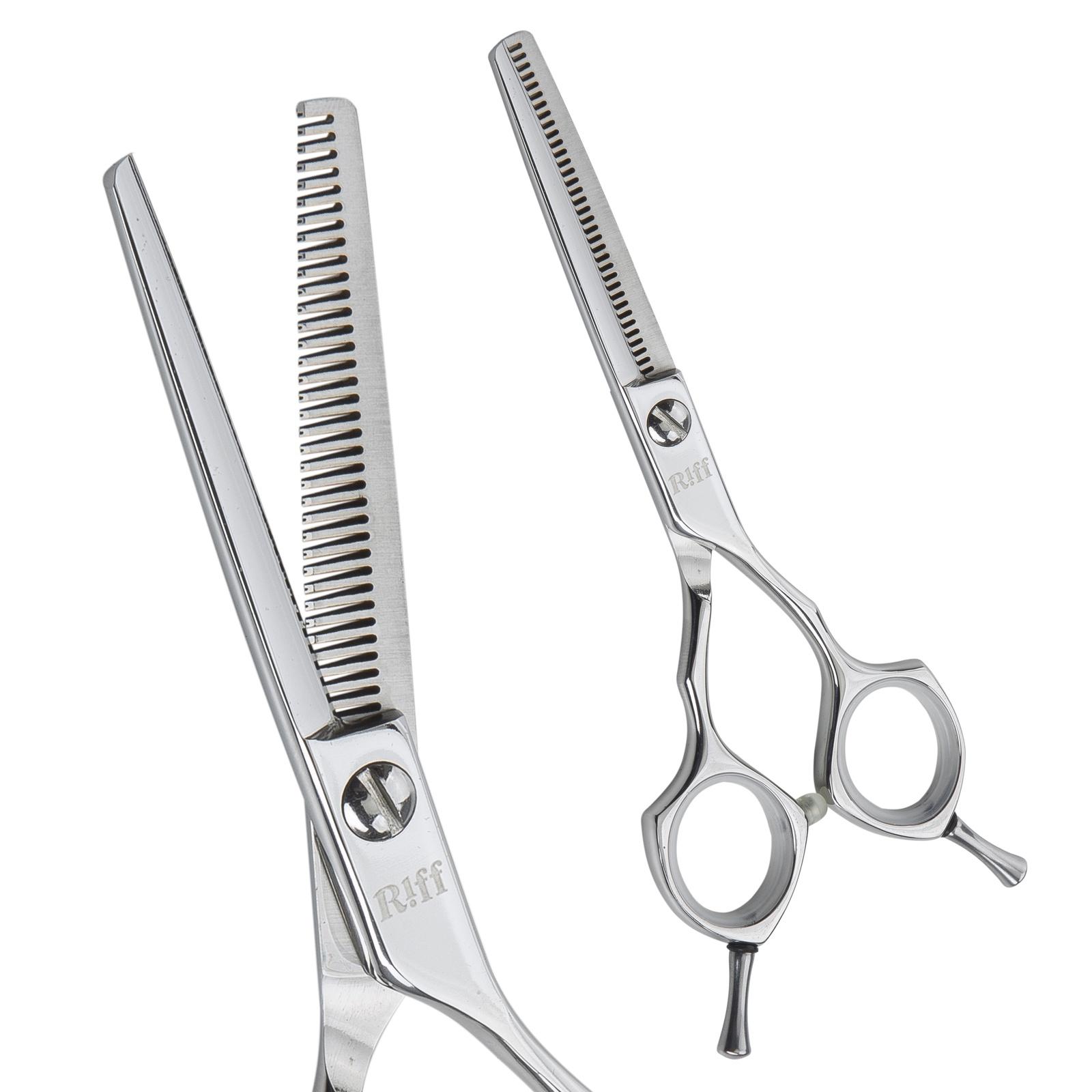 Ножницы парикмахерские филировочные RIFF Master, AMT035535, 5,5 дюймов