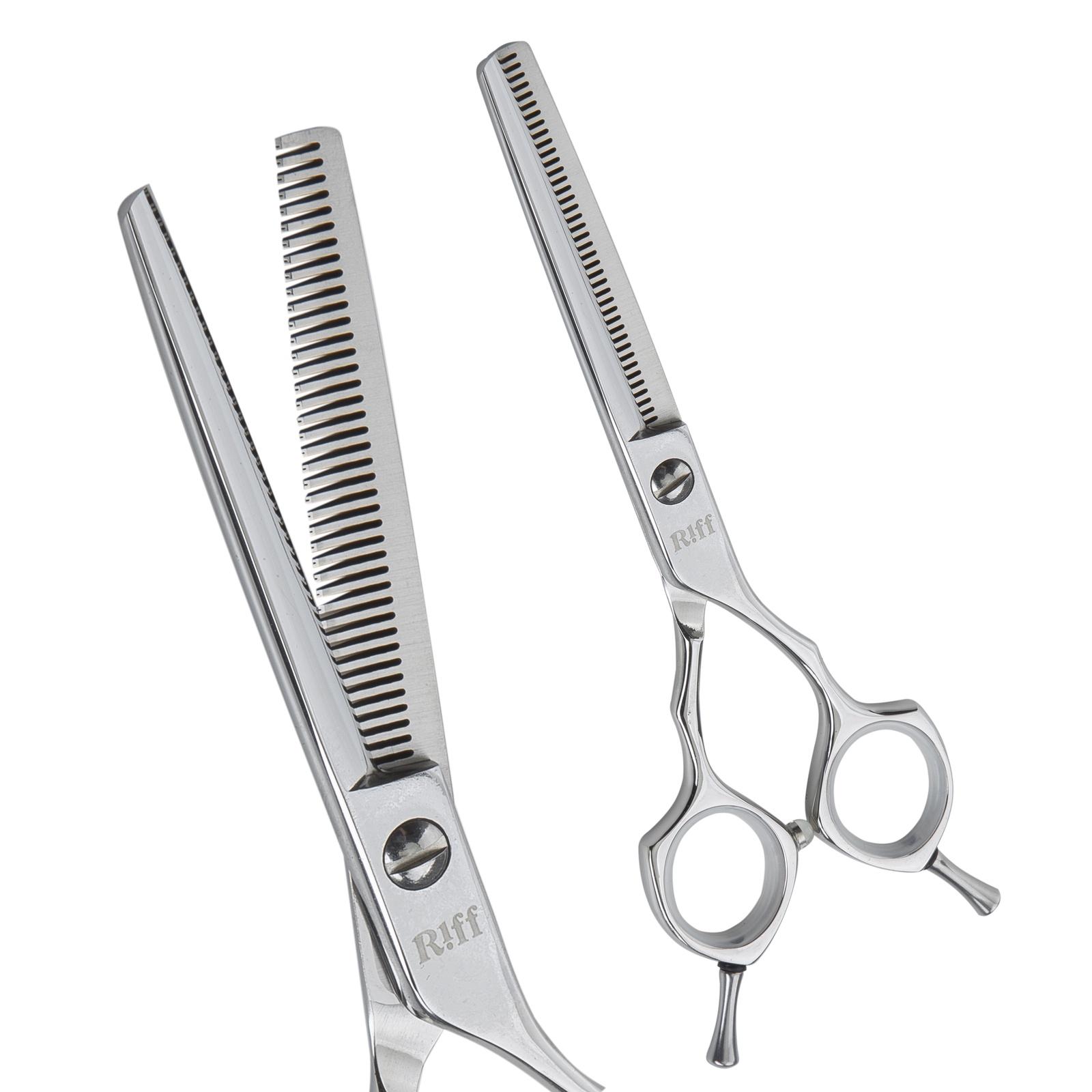 Ножницы парикмахерские филировочные RIFF Master, AMT036040, 6 дюймов