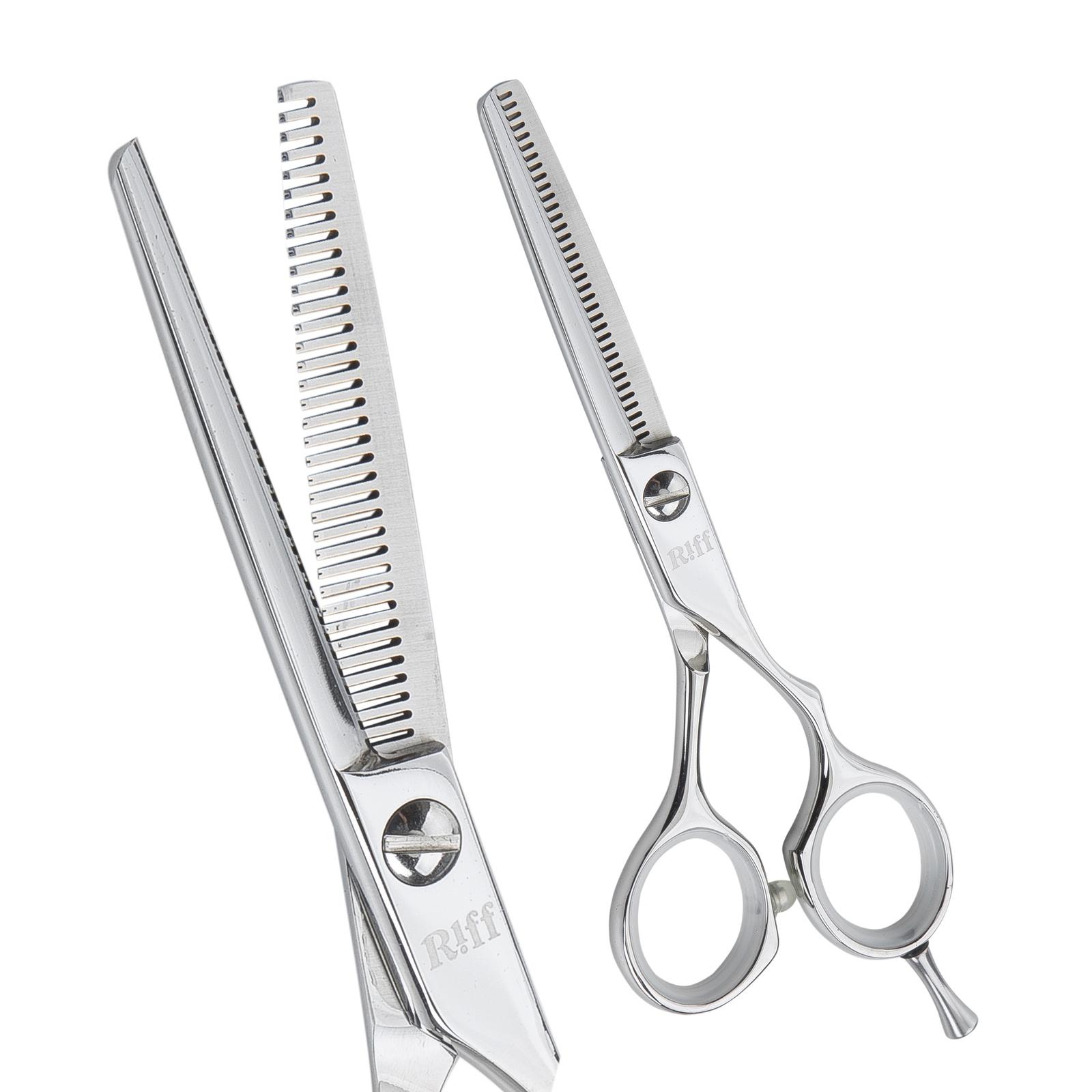 Ножницы парикмахерские филировочные RIFF Master, AMT045535, 5,5 дюймов