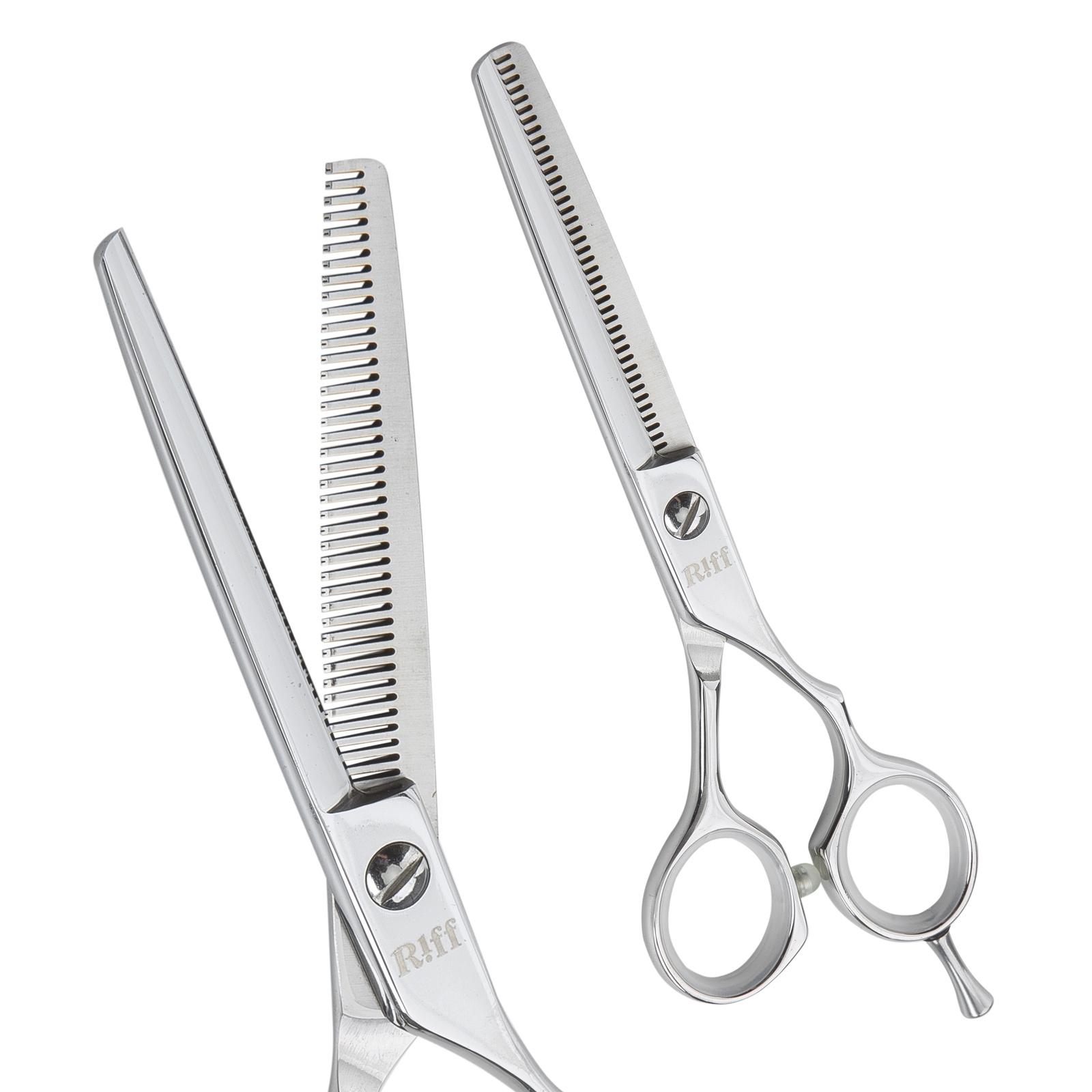 Ножницы парикмахерские филировочные RIFF Master, AMT046040, 6 дюймов