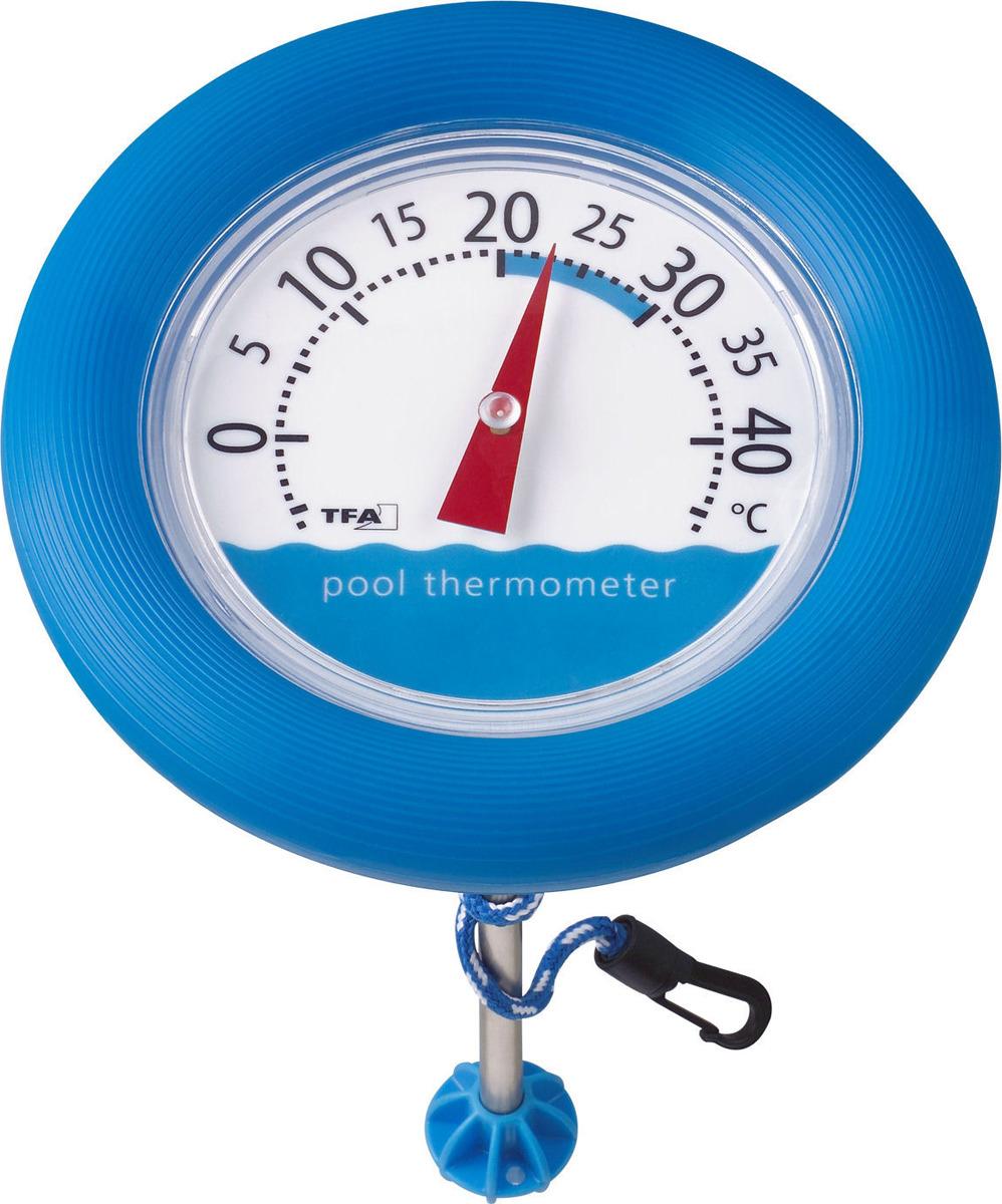 Термометр для бани, сауны TFA 40.2007 Poolwatch плавающий