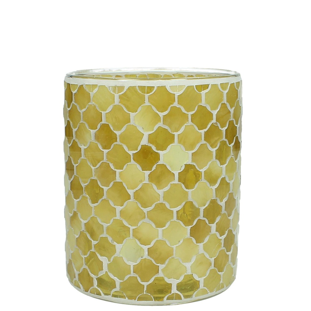 Фото - Подсвечник *Онцидиум* RICH LINE Home Decor, WER-7386, желтый, Размер 12x12x15 см подсвечник rich line home decor греция dis 7690 серебристый