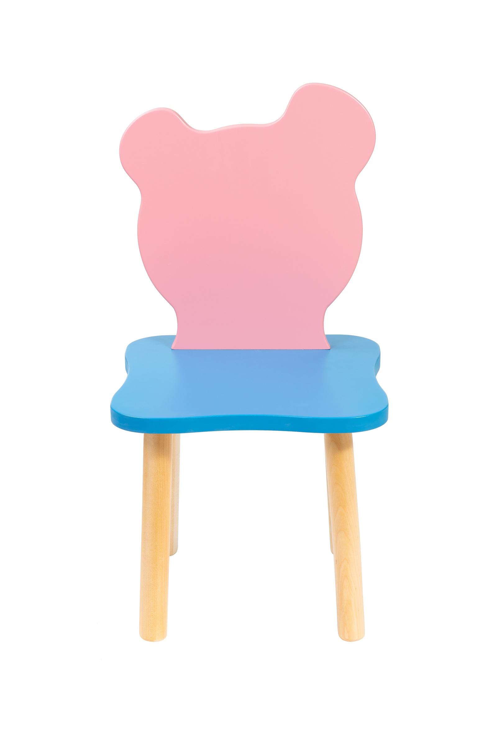 """Стул детский Polli Tolli """"Джери"""", Розовый+Голубой,26см, 25879"""