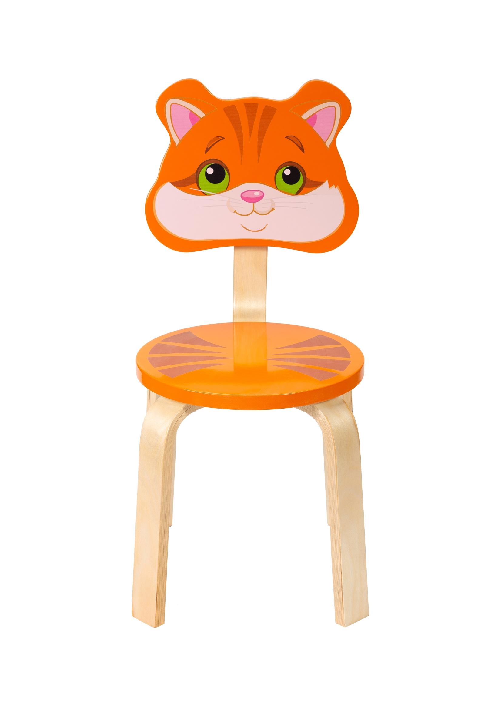 Детский стул Polli Tolli Мордочка.Котенок,32568, 32568 цена и фото
