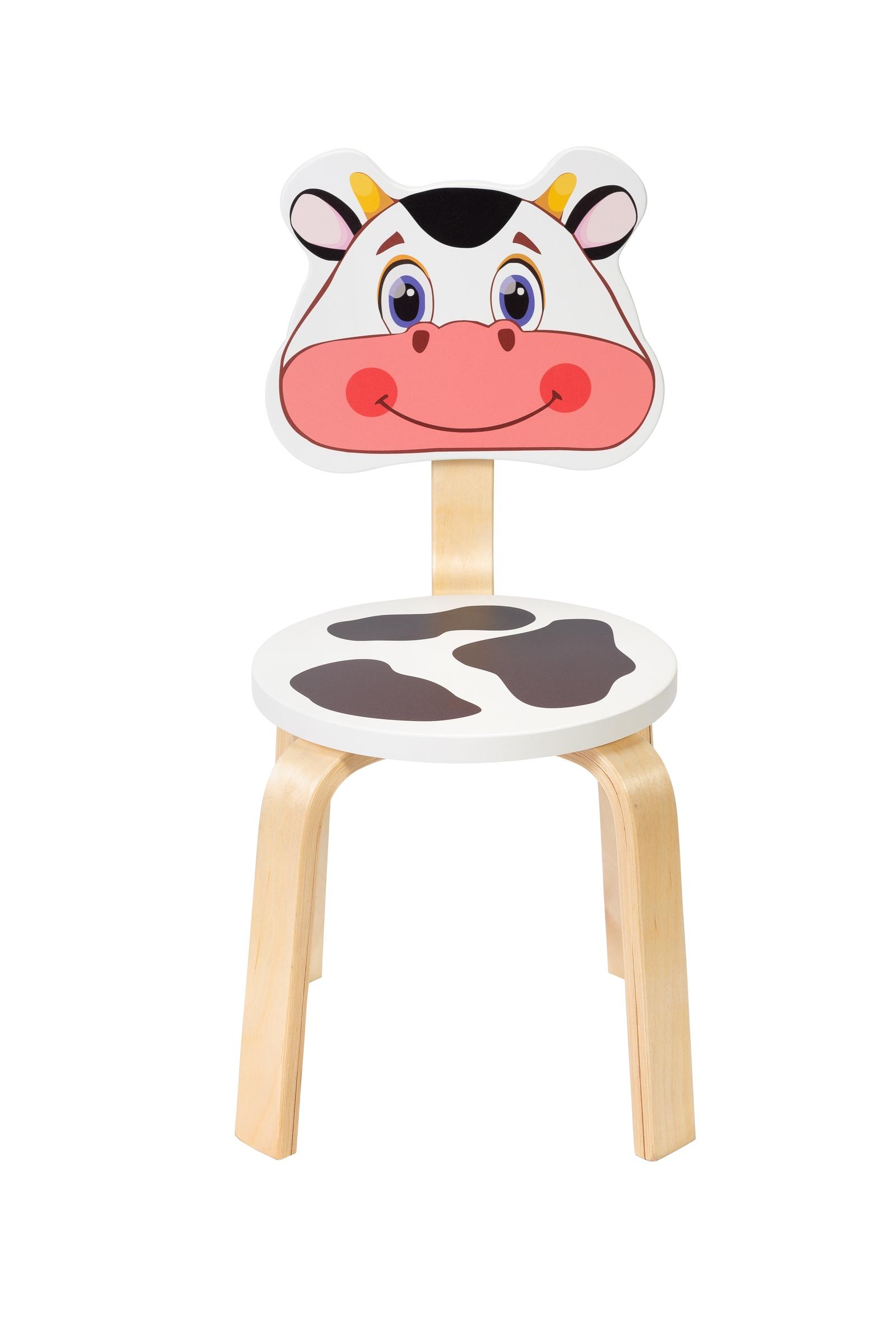 Детский стул Polli Tolli Мордочка.Коровка,32567, 32567 цена и фото