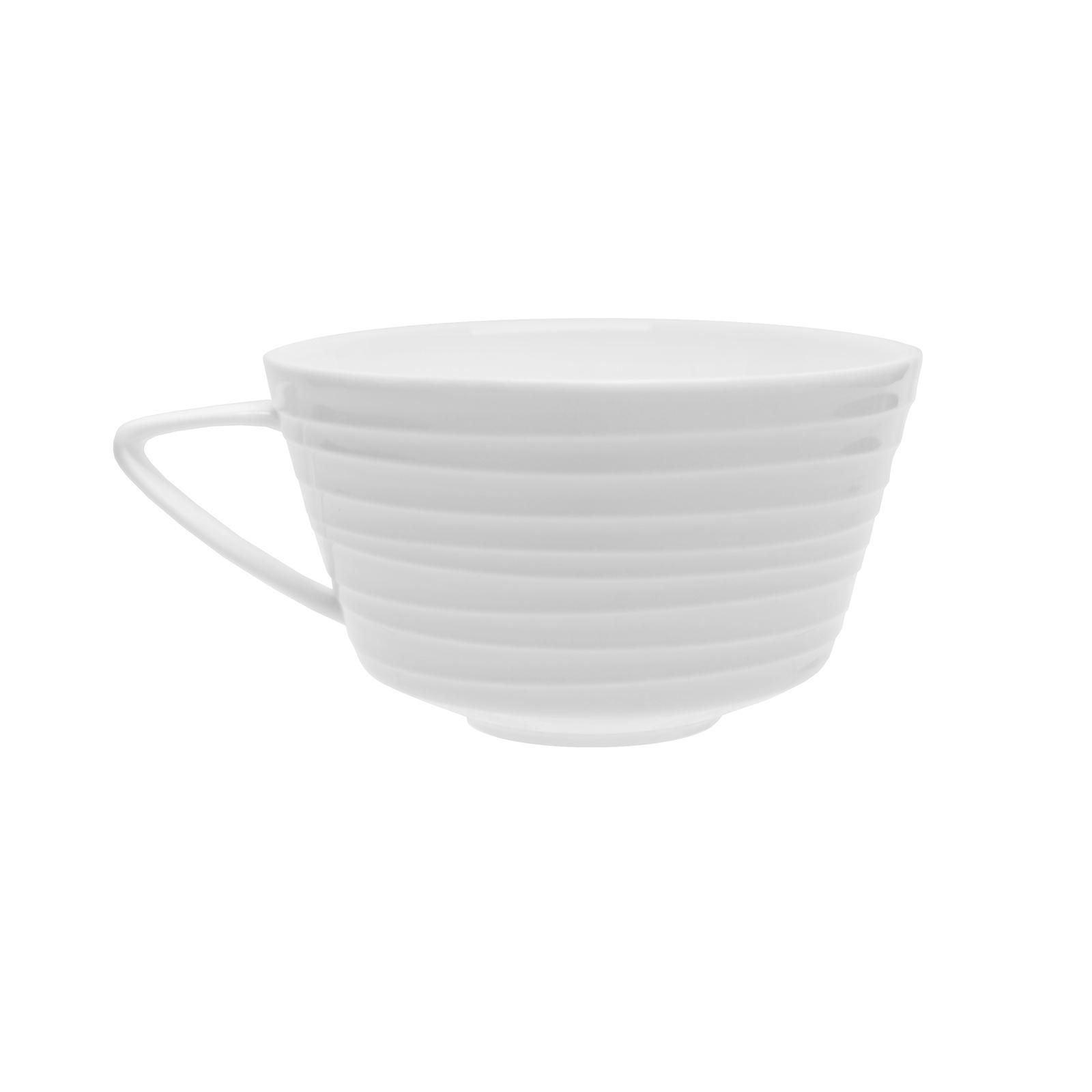 Чашка чайная TUDOR ENGLANDRoyal Circle 300 млTU2109Фарфор Tudor England – идеальное посудное решение для любой семьи или ресторана благодаря доступной цене, отличному внешнему виду и высокому качеству, прочности и долговечности, привлекательному дизайну и большому ассортименту на выбор. Важным преимуществом является возможность использования в микроволновой печи, духовке (до 280 градусов) и мытья в посудомоечной машине. Линейка Tudor Ware производилась с 1828 года, поэтому фарфор Tudor England является наследником традиций, навыков и технологий ушедших поколений, что отражается в каждой из наших фарфоровых коллекций.
