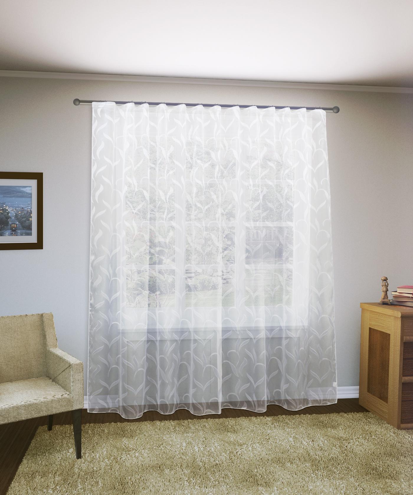 Тюль Sanpa Home Collection Филис, HP9929/9/1E Филис, белый, белый, (300*280) тюль sanpa home collection амая hp18061 120 1e амая белый белый 300 120