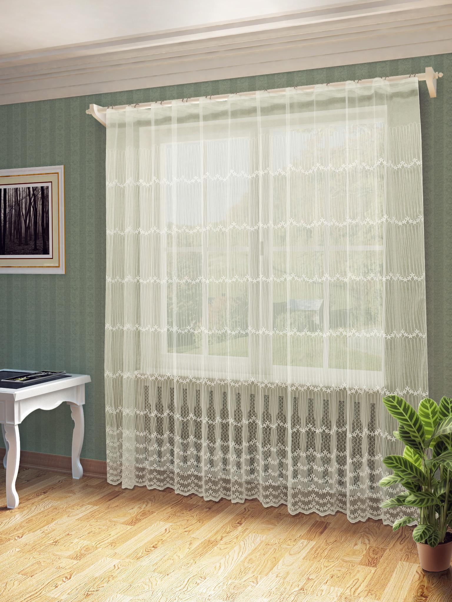 Тюль Sanpa Home Collection Мелиса, HP130433/4/1E Мелиса, бежевый, бежевый, (300*260) тюль sanpa тюль мелиса белый 300 260 см