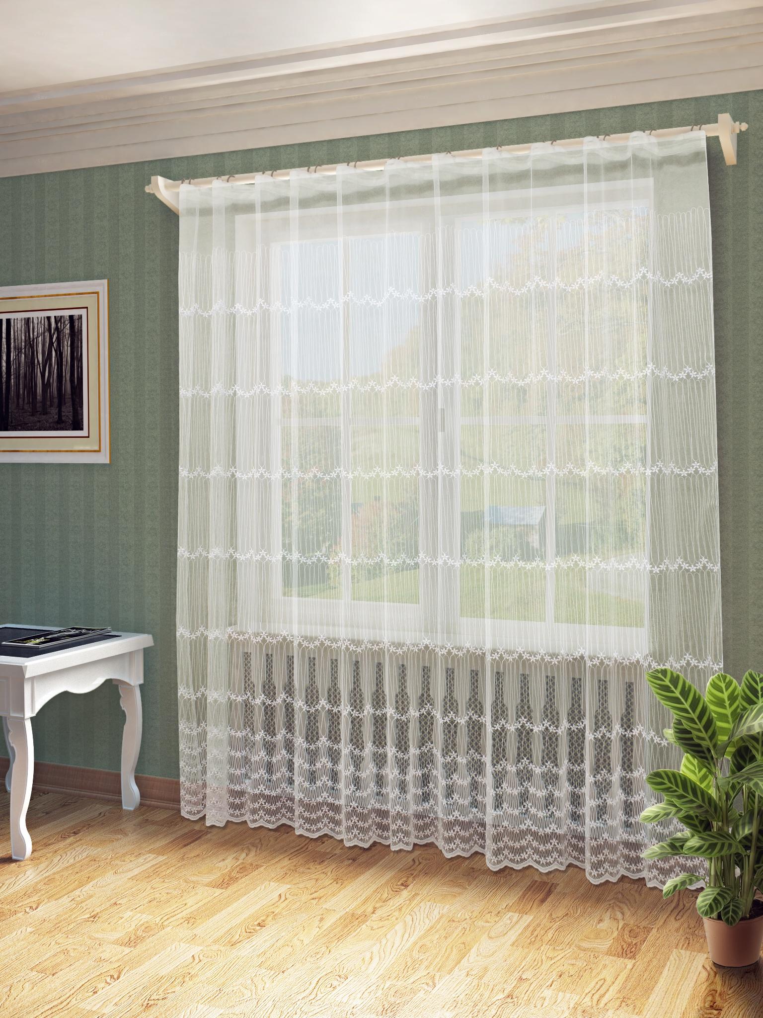 Тюль Sanpa Home Collection Мелиса, HP130433/3/1E Мелиса, белый, белыйЮ (300*260) тюль sanpa тюль мелиса белый 300 260 см