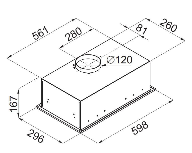 Вытяжка MAUNFELD Crosby Light (C) 60см INOX, Crosby Light (C) 60см INOX, серебристый Maunfeld