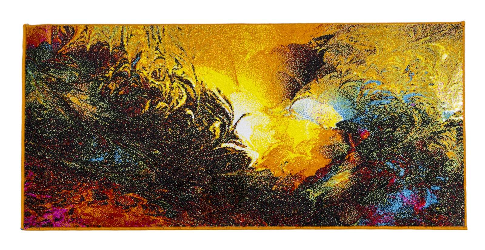 Ковер MADONNA 1,2х1.8 м /прямоугольник, бежевый, желтый, красный