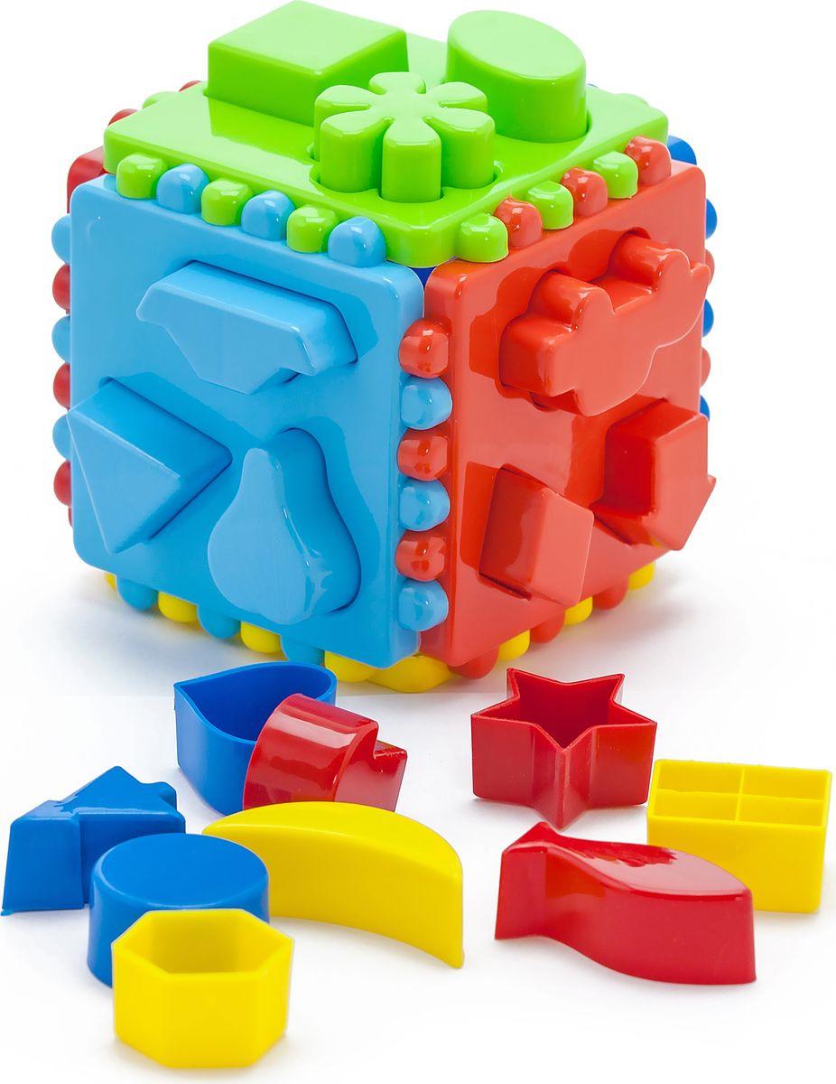 Karolina Toys Сортер Большой логический кубик stellar развивающая игра сортер логический кубик 01314