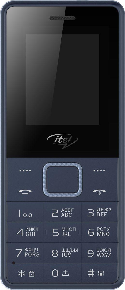 Мобильный телефон ITEL IT2160 DS Dark Blue телефон dect gigaset l410 устройство громкой связи