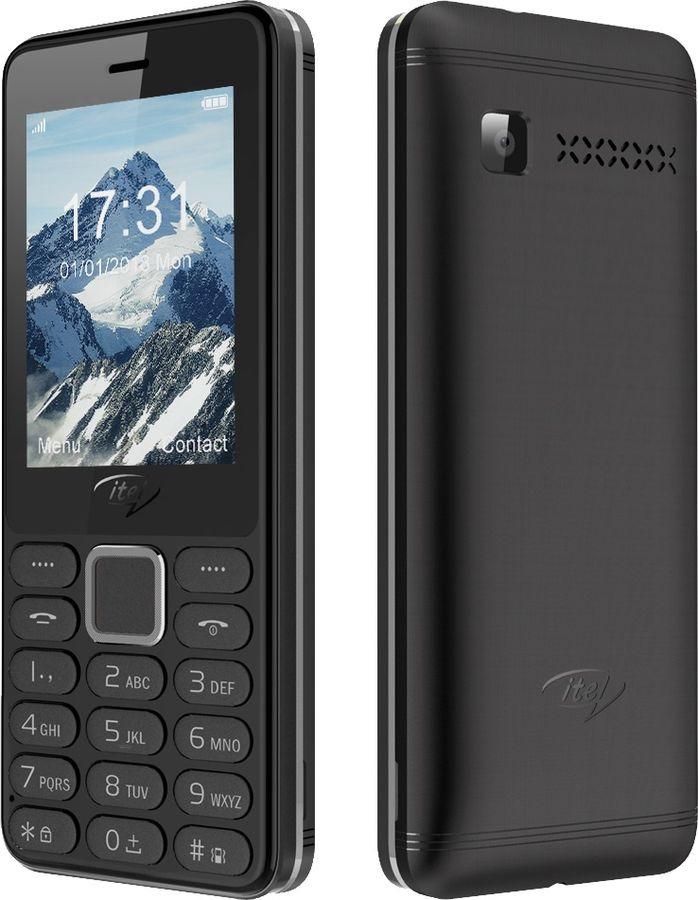 Мобильный телефон ITEL IT5022 DS Elegant Black мобильный телефон itel it5606 ds elegant black