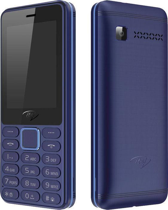 Мобильный телефон ITEL IT5022 DS, темно-синий телефон