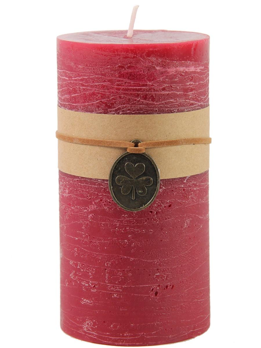 Свеча декоративная RICH LINE Home Decor Пуансетия-14, 743112, красный, розовый