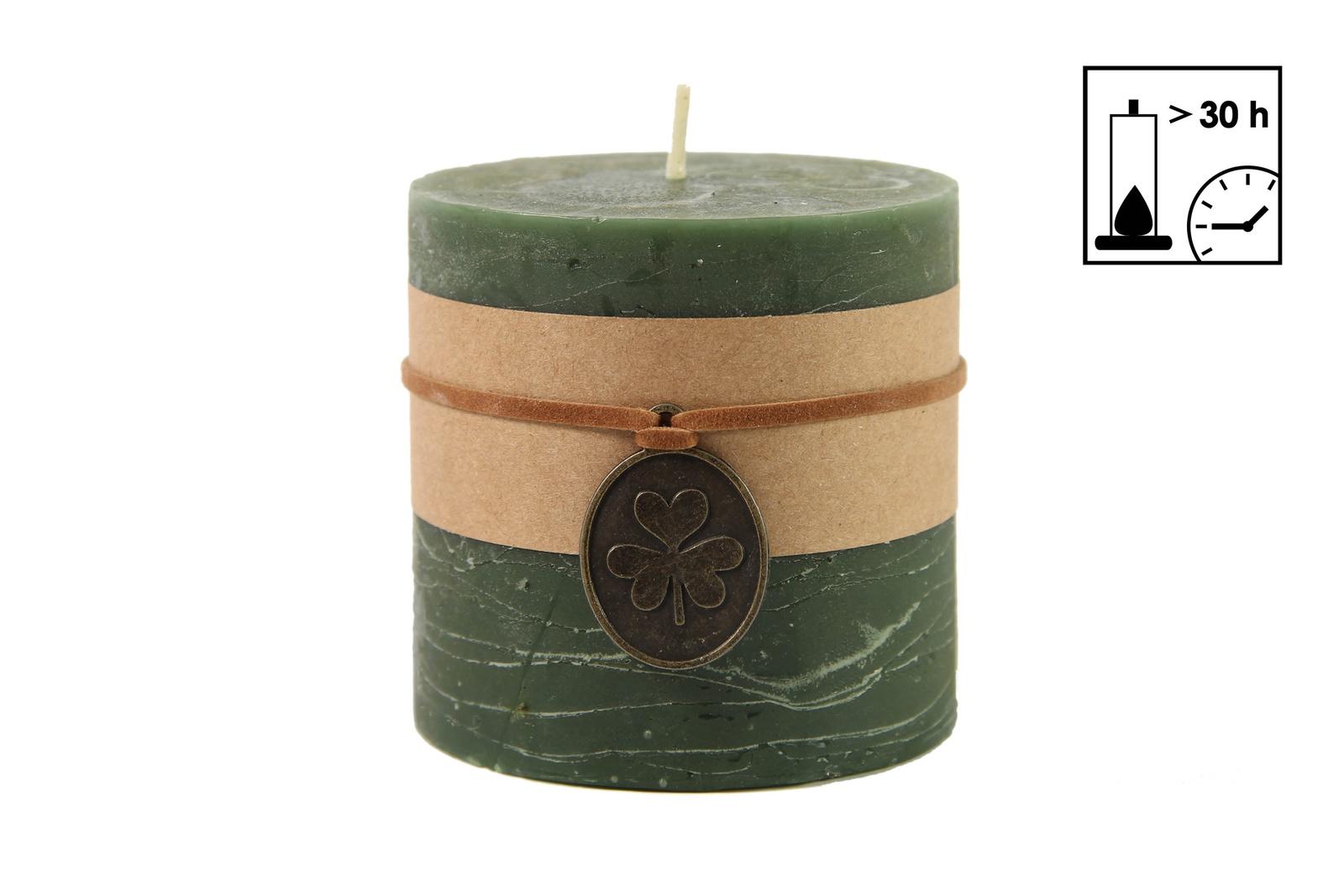 Свеча декоративная RICH LINE Home Decor Эвкалипт-7, 743077-1, зеленый