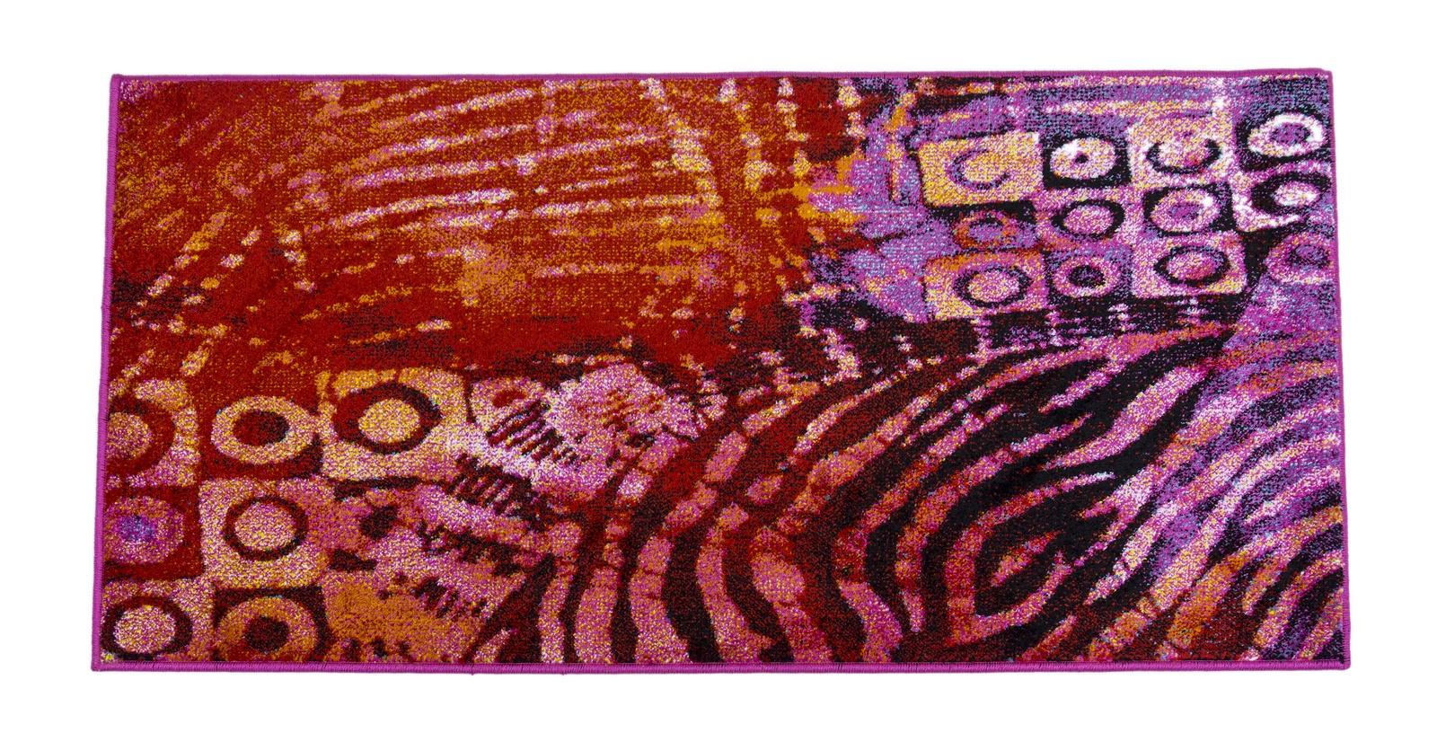Ковер MADONNA 1,2х1,8 м /прямоугольник, красный, сиреневый