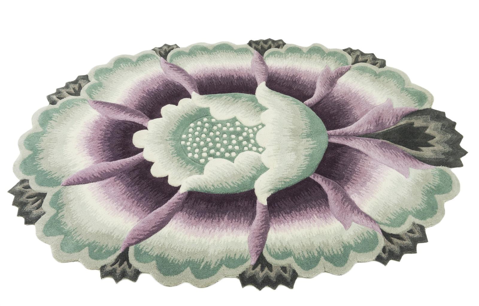 Ковер MADONNA 1,2х1,8 м /круг, салатовый