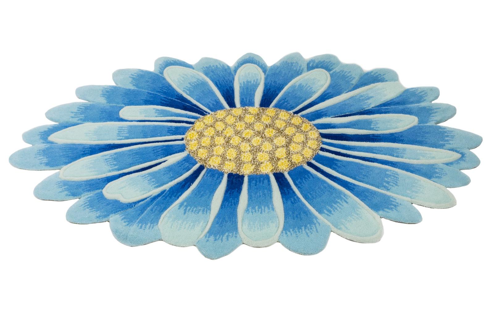 Ковер MADONNA 1,2х1,8/круг/8DHS03/синий/390/, синий