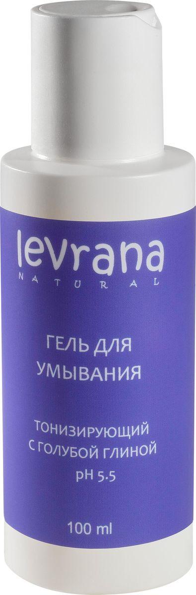 Гель для умывания Levrana Матирующий, с голубой глиной, Mini, 100 мл Levrana