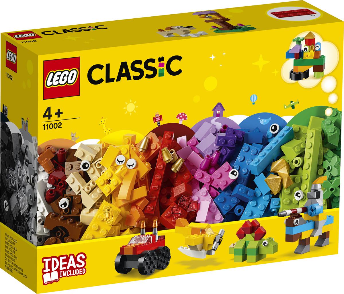 LEGO Classic 11002 Базовый набор кубиков Конструктор цена в Москве и Питере