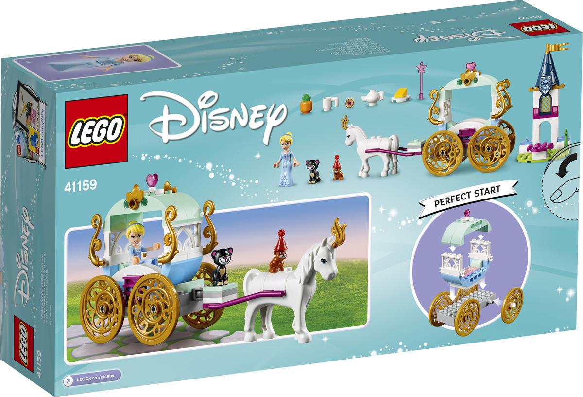 LEGO Disney Princess 41159 Карета Золушки Конструктор конструктор lego disney princess волшебный замок золушки 41154