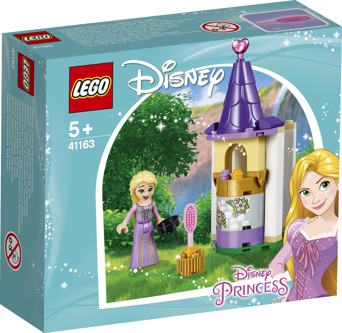 LEGO Disney Princess 41163 Башенка Рапунцель Конструктор конструктор lego disney princess башенка рапунцель 44 дет 41163