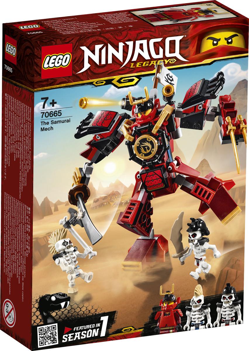 LEGO NINJAGO 70665 Робот-самурай Конструктор
