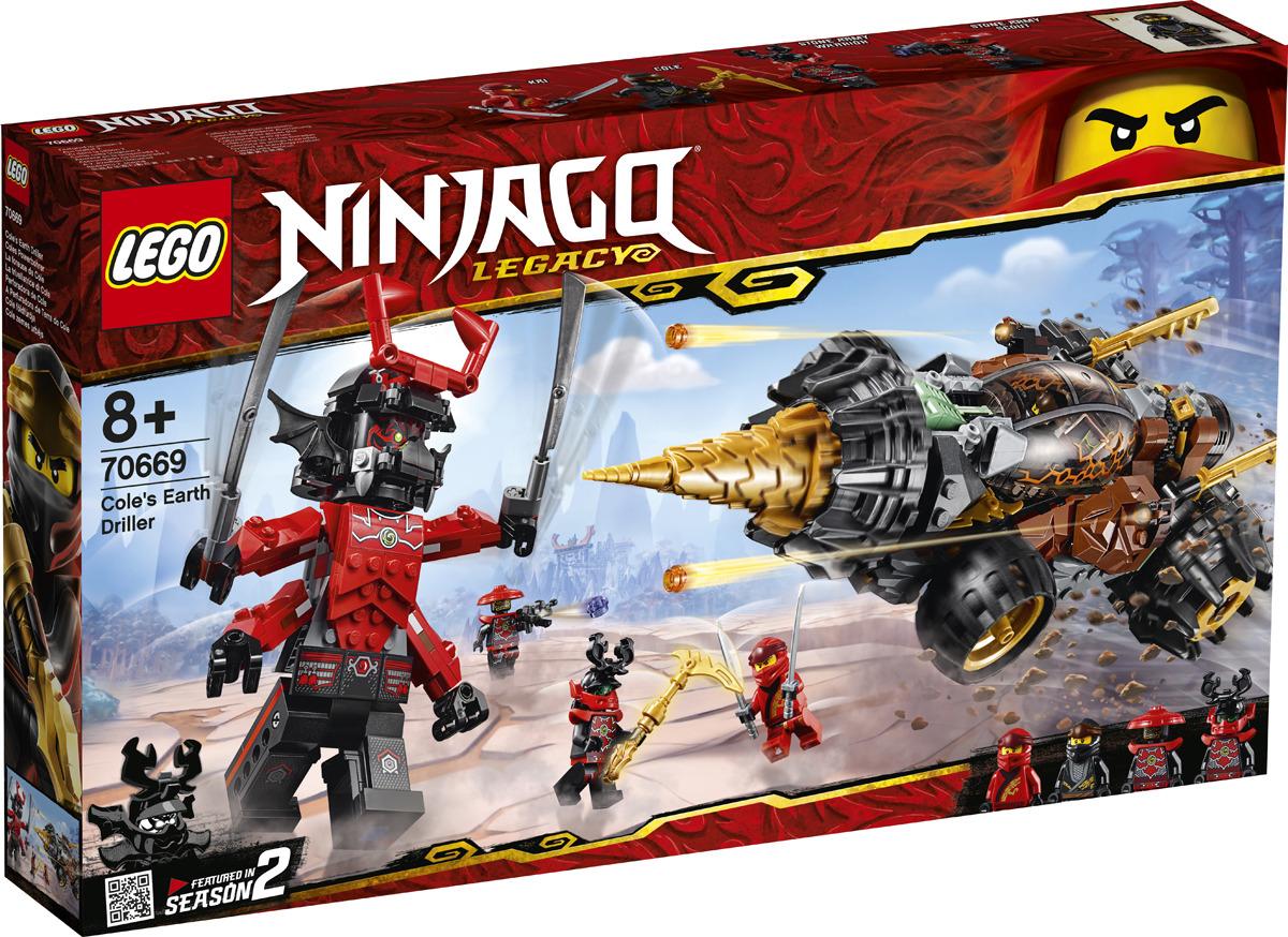 LEGO Ninjago 70669 Земляной бур Коула Конструктор