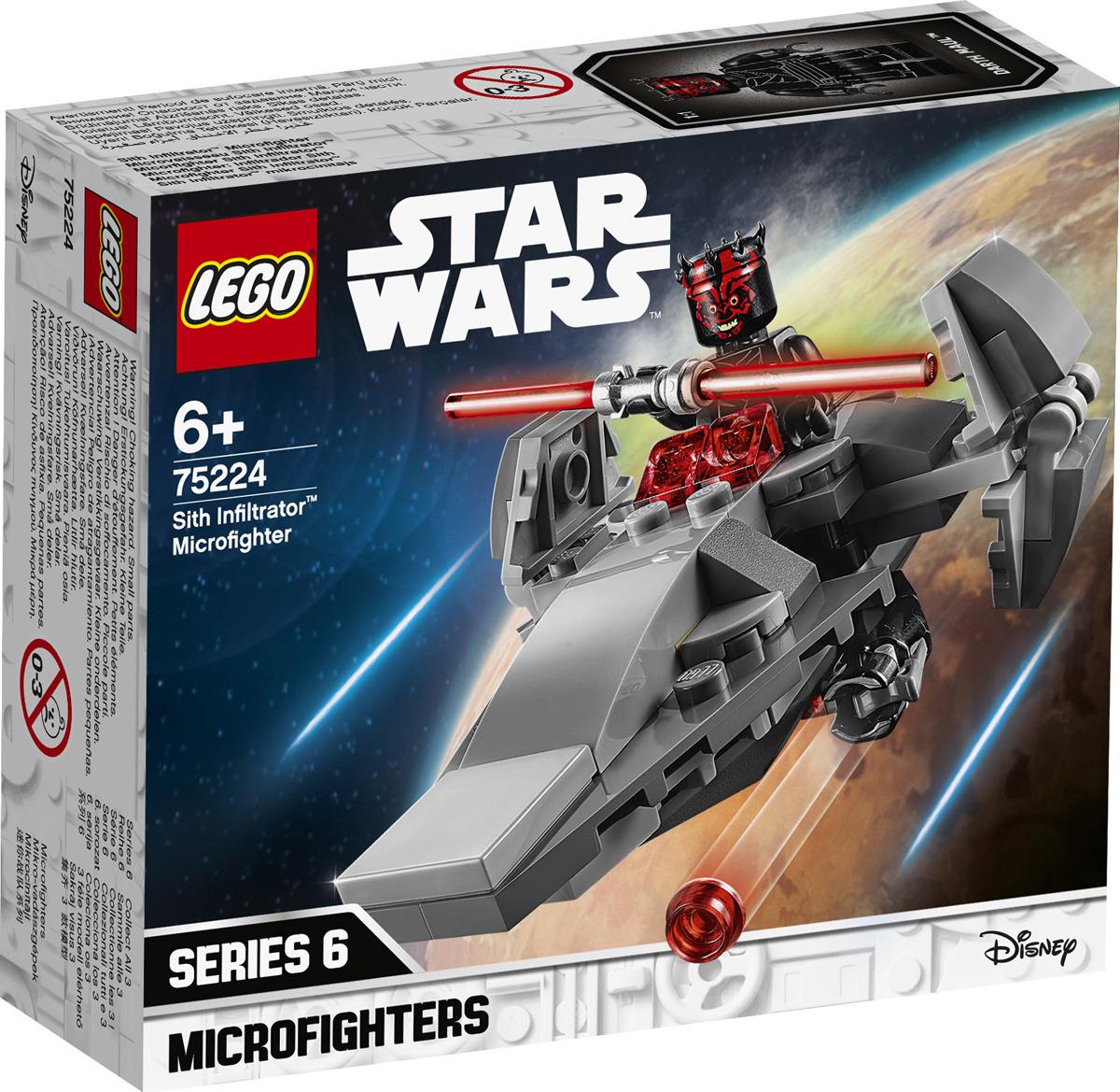 LEGO Star Wars 75224 Микрофайтеры: Корабль-лазутчик ситхов Конструктор