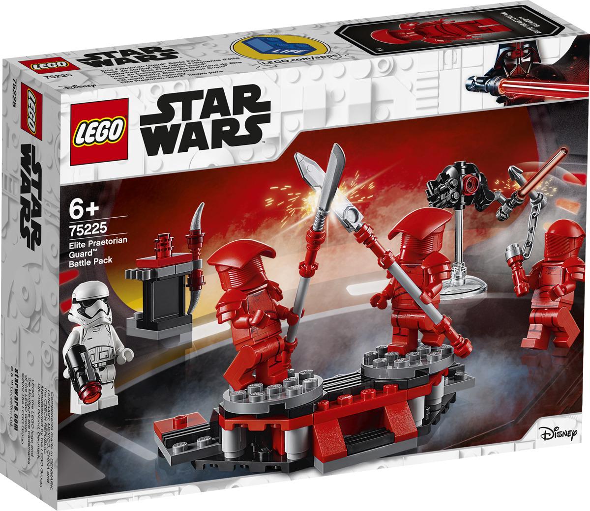 LEGO Star Wars 75225 Боевой набор Элитной преторианской гвардии Конструктор