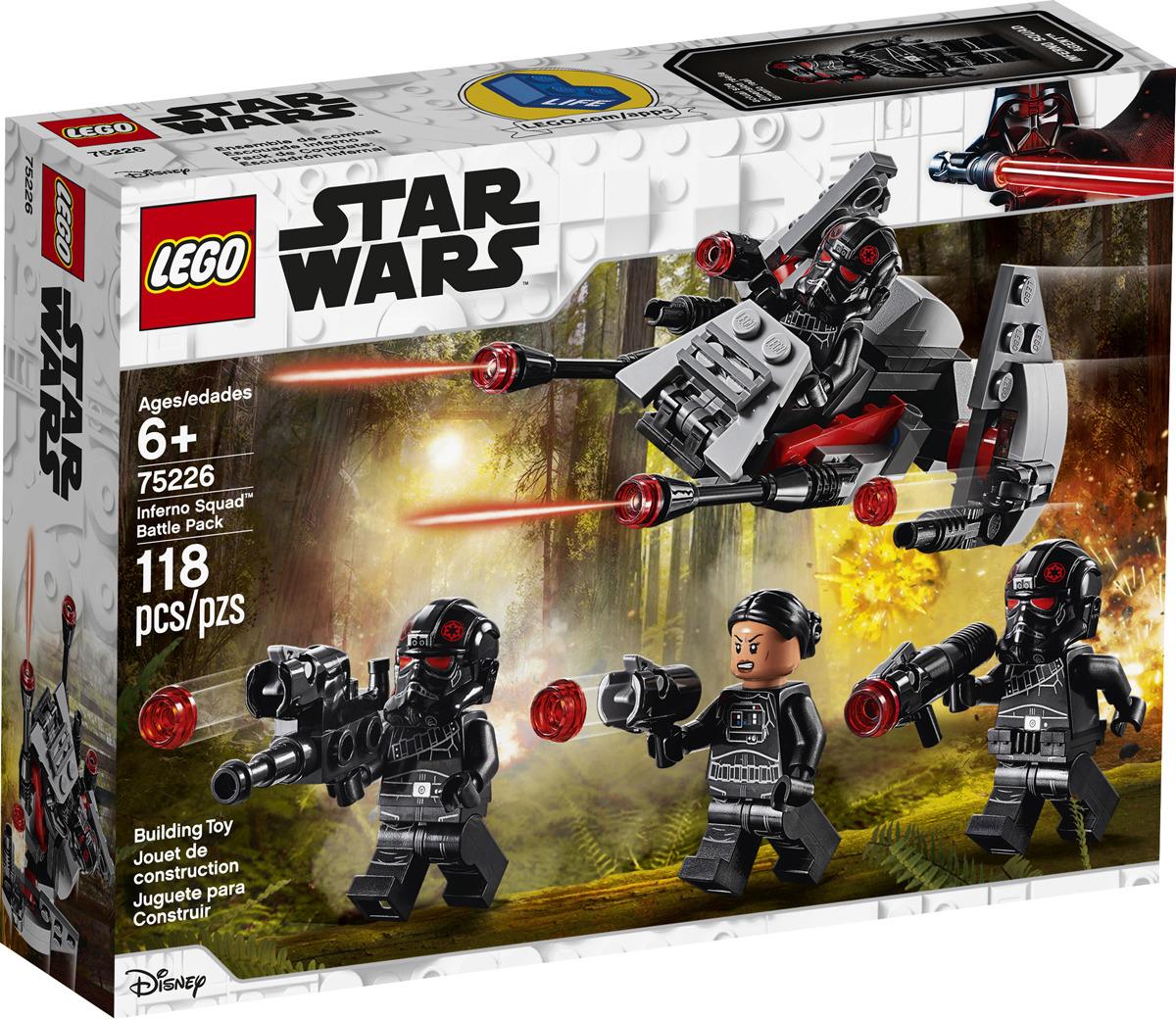 LEGO Star Wars 75226 Боевой набор отряда Инферно Конструктор конструктор lego star wars 75226 боевой набор отряда инферно