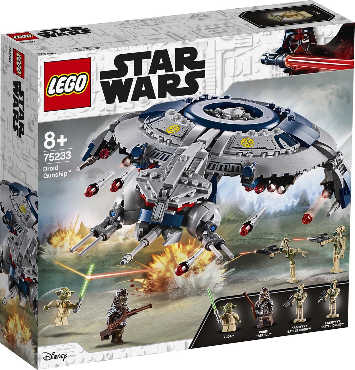 LEGO Star Wars 75233 Дроид-истребитель Конструктор