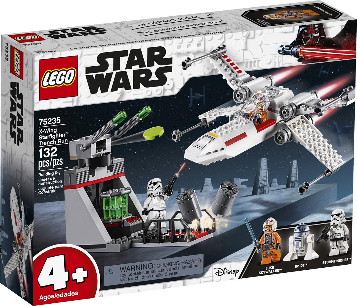 Конструктор star wars звездный истребитель