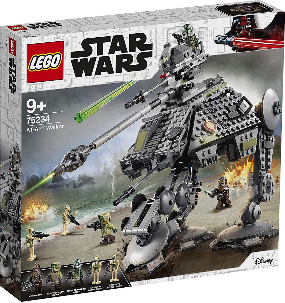 LEGO Star Wars 75234 Шагающий танк АТ-AP Конструктор