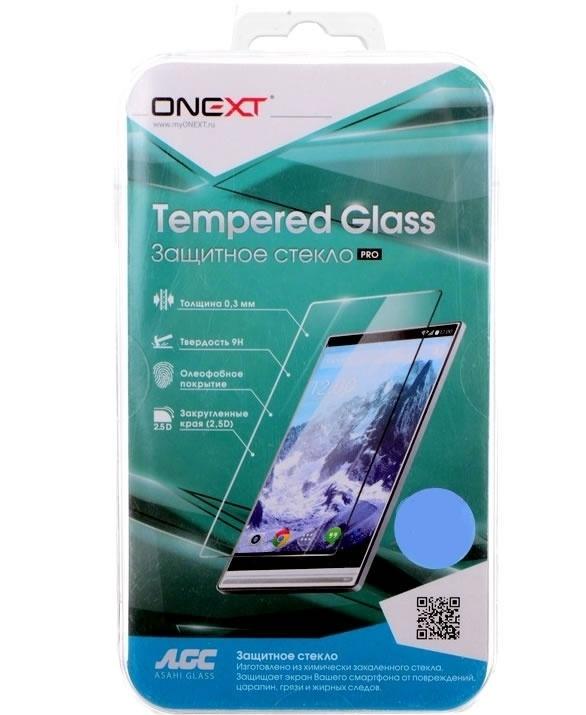 Защитное стекло для экрана Onext прозрачный для Samsung Galaxy J2 Pro 2018 1шт. (41588) защитное стекло для экрана onext 3d черный для samsung galaxy a5 2017 1шт 41311
